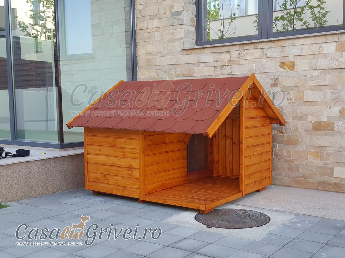 Cusca cotet caine din lemn cu terasa izolata termic caine talie mare - model DEXTER - casaluigrivei.ro-01.jpg