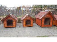 Casute pentru caini izolate termic din lemn talie mare ciobanesc german labrador caucazian rotweiller cane corso