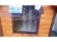 Custi  pentru caini izolate termic din lemn talie mare ciobanesc german labrador doberman cane corso